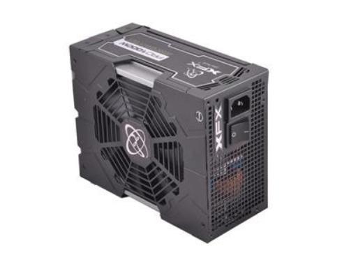 XFX Black Edition 1000W Full Modular (80+ Platinum, 6xPEG, 135mm, Single Rail)