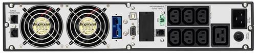 Lestar UPS OTRT-2500 XL Sinus LCD RT 7xIEC USB RS RJ 45