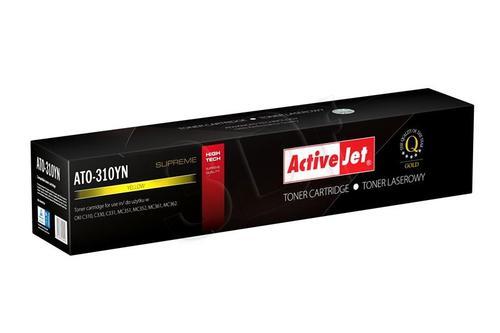 ActiveJet ATO-310YN żółty toner do drukarki laserowej OKI (zamiennik 44469704) Supreme