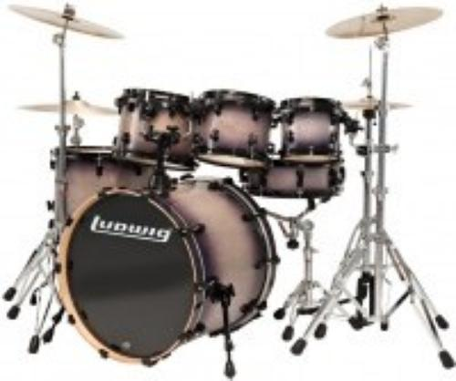 Ludwig Element Fusion LCB20FX-BF + hardware CS400