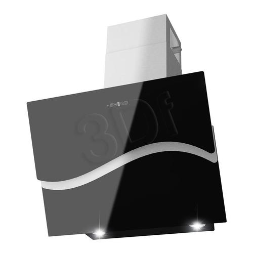 GORENJE DVG 600 WAV-B (czarny / wydajność 520m)