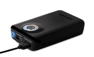 Puro Fujipower Power Bank 6600 mAh + latarka black