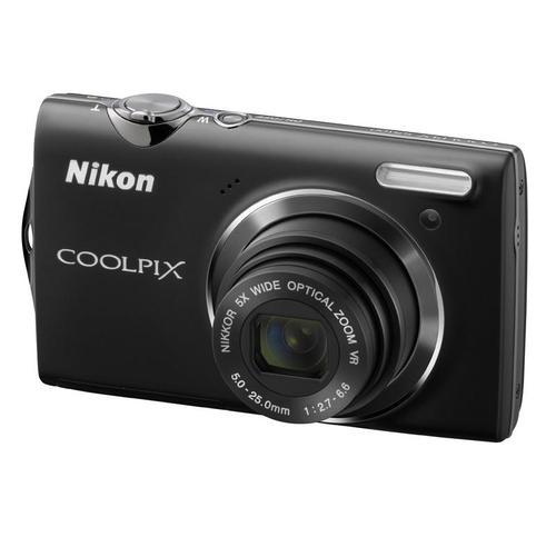 NIKON COOLPIX S5100 (CZARNY)