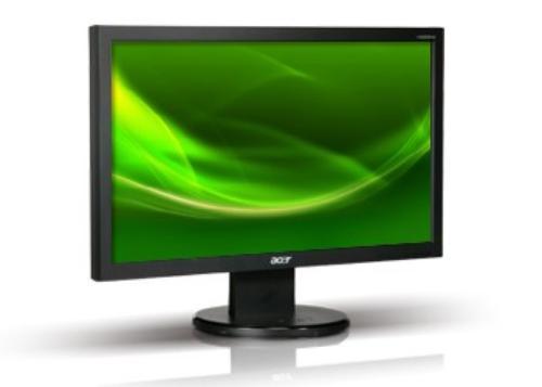 Acer 19'' Monitor V193WLAOb 48cm 16:10 LED 5ms 12M:1 czarny TCO5.2 (zabezpieczenie PIN)