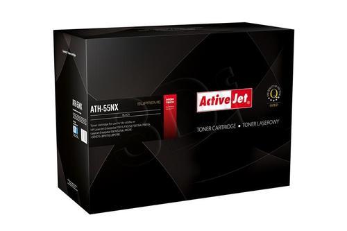 ActiveJet ATH-55NX czarny toner do drukarki laserowej HP (zamiennik 55X CE255X) Supreme