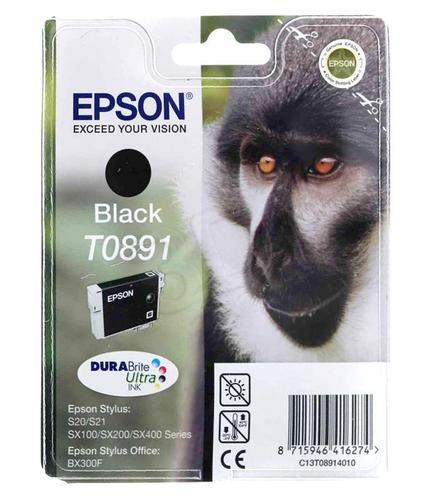 EPSON Tusz Czarny T0891=C13T08914011, 5.8 ml