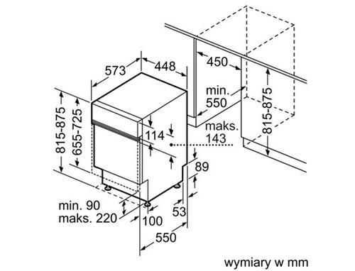 Bosch Zmywarka SPI53M25EU
