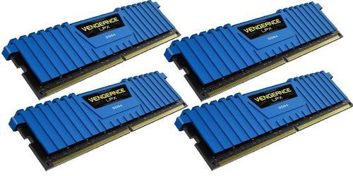 Corsair DDR4 Vengeance LPX 32GB /2666 (4*8GB) BLUE CL16-18-18-35