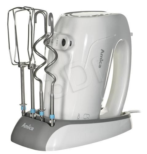 Mikser ręczny Amica MK 3011 (400W/Biały)