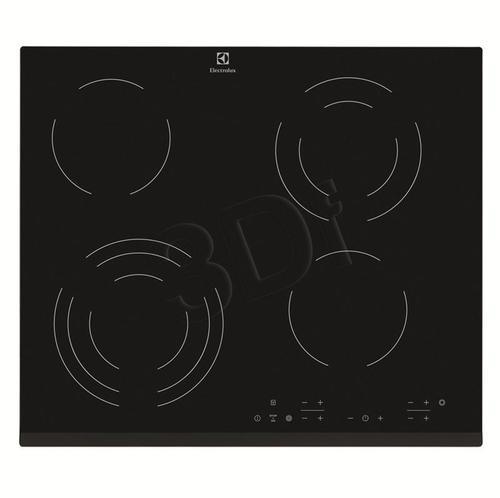 ceramiczna ELECTROLUX EHF 46343FK (elektryczna / czarna / 6400W)