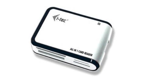 i-Tec USB ALL-IN-1 CZYT READER WHITE/SILVER