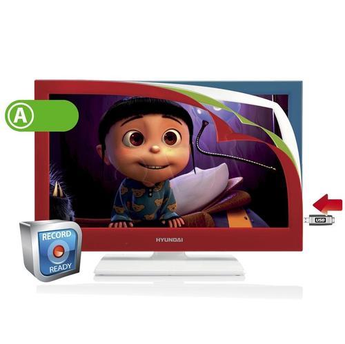 """TV 22"""" LED Hyundai LLF22945CR (DVB-T, 50Hz, USB multi)"""