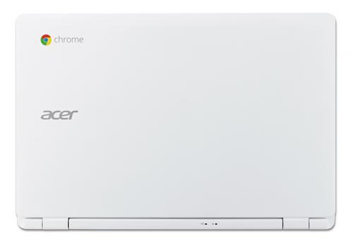 "Acer Chromebook CB3-111-C69V 11.6""/N2840Dual/Intel HD/4GB/32GB/802.11ac+BT/HDMI/USB3.0/SD reader/Cam/Chrome OS/white"