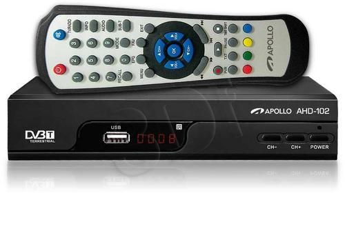 Apollo AHD-102 Dekoder DVB-T i odtwarzacz FHD