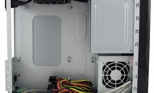 """LC-Power OBUDOWA CASE-1400MI MINI-ITX 1X 5,25"""" 1X 3,5"""" HD-AUDIO ZASILACZ LC200SFX 200W CZARNA"""