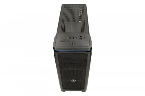SilentiumPC Brutus M25 Pure Black USB3.0 ATX/SSD ready/2x120 mm