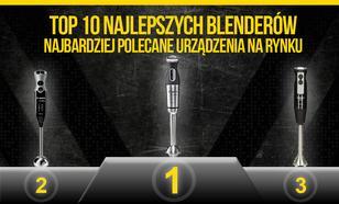TOP 10 Najlepszych Blenderów – Najbardziej Polecane Urządzenia na Rynku!