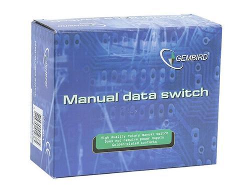 GEMBIRD Przełącznik drukarkowy USB 4/1