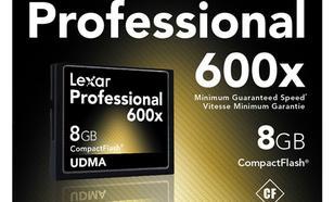 Lexar 600x Professional UDMA 8 GB