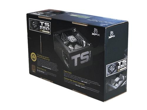 XFX Core TS 550W (80+ Bronze, 2xPEG, 120mm, Single Rail) GREN