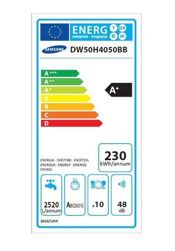Samsung DW50H4050BB