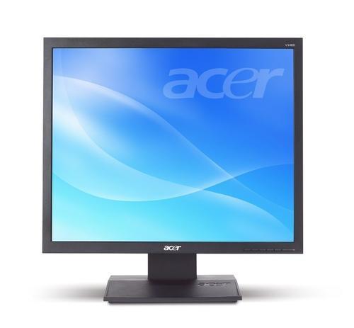 Acer 19'' Monitor V193LAOb 48cm 4:3 LED 5ms 100M:1 czarny TCO5.2 (zabezpieczenie kodem PIN)