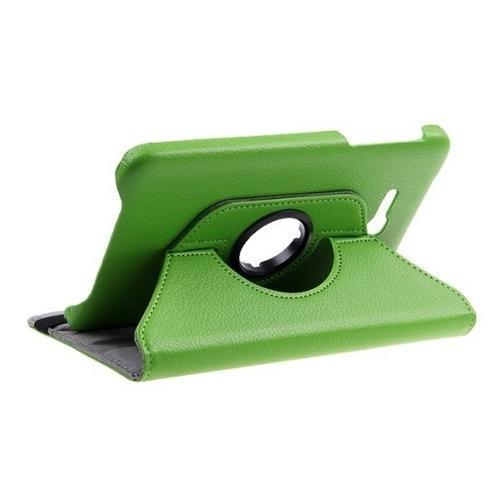 "WEL.COM Etui obrotowe Samsung Galaxy Tab 4 8"" zielone"