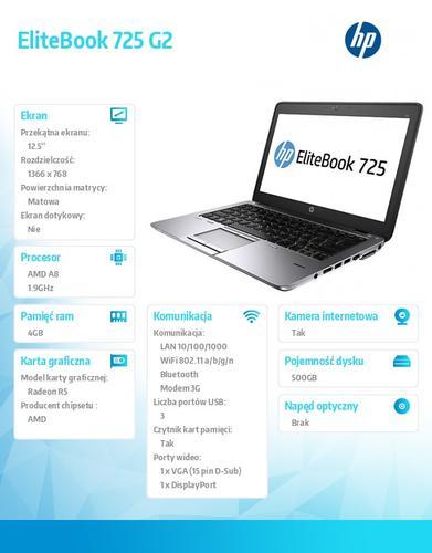 HP 725 A8-7150B W78P 500/4G/12,5 F1Q18EA