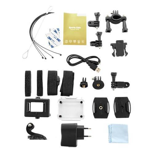 Qoltec Wodoodporna kamera sportowa 1.5 cala   Full HD   WI-FI