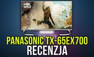 Recenzja Panasonic TX-65EX700