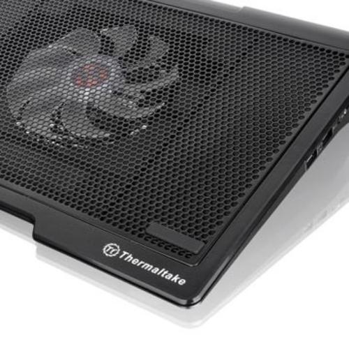 "Thermaltake Podstawka chłodząca pod NB'ka - Massive SP (10~17"", 140mm Fan, LED) mesh, głośniki 2.0"