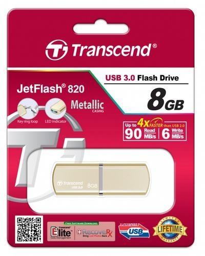Transcend JETFLASH 820 8GB USB3.0 Luxary Series 90/6 MB/s