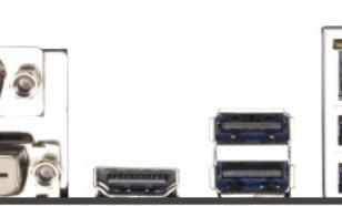 Asrock H81M S1150 H81 2DDR3 USB3/HD/DVI/DS BOX