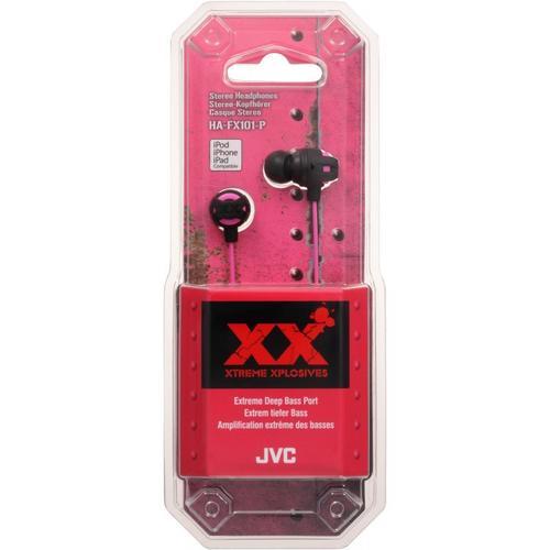 JVC Słuchawki douszne HA-FX101-P-E PINK