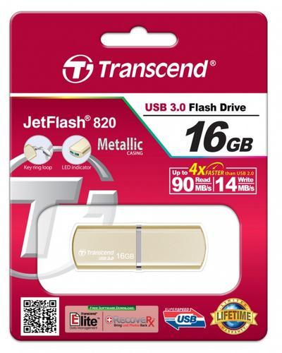 Transcend JETFLASH 820 16GB USB3.0 Luxary Series 90/14 MB/s