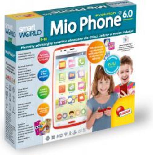 Liscianigiochi MIO Phone HD Czerwony SMARTFON DLA DZIECI (304-P55715)