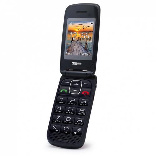 MaxCom MM 819BB CZERWONY Poliphone/Big button