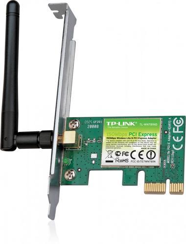 TP-LINK WN781ND karta WiFi N150 PCI-E 1x2dBi (SMA) BOX