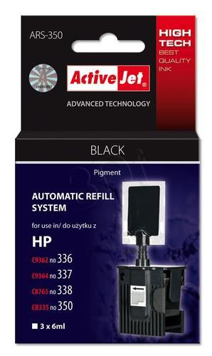 ActiveJet automatyczny system napełniania ARS-350 kolor czarny do HP 336/337/338/350 3x6ml
