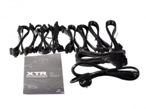 XFX Black Edition XTR 550W Full Modular (80+ Gold, 2xPEG, 135mm, Single Rail)