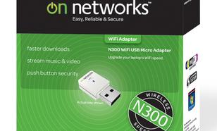 On Networks karta sieciowa WiFi Micro USB N300 [UNBOXING]