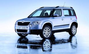 Skoda Yeti SUV 2,0TDI CR DPF 4x4 (140KM) M6 Ambition 5d