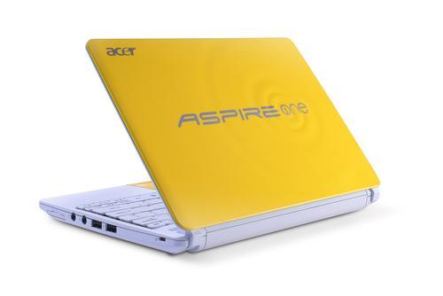 Acer Aspire One Happy (Banana Cream)