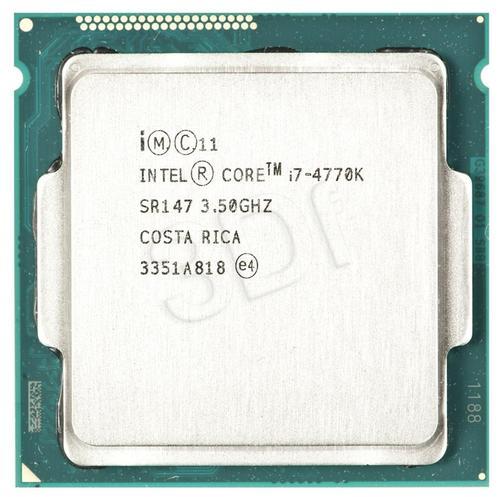 intel CORE I7 4770K 3.5GHz LGA1150 OEM