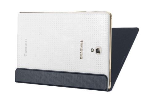 "Samsung Etui w formie ""book cover"" tylko na przód / Simple cover do GALAXY Tab S 8.4 AMOLED / Klimt (T700/T705) - czarne"