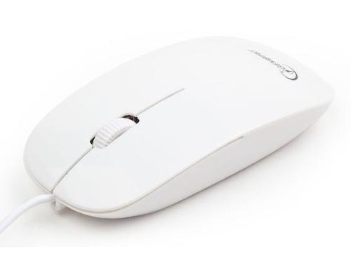 GEMBIRD Mysz OPTO 1-SCROLL USB (MUS-103-W) White
