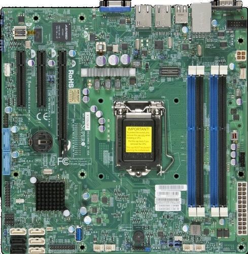 Supermicro Płyta serwerowa X10SLM+- MBD-X10SLM+-F-O