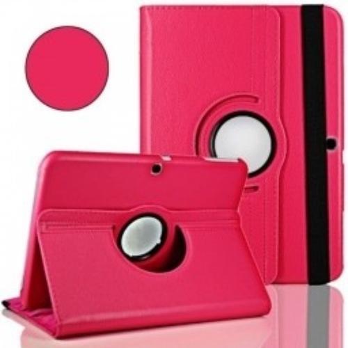 """WEL.COM Etui obrotowe Samsung Galaxy Tab S 10.5"""" ciemny róż"""