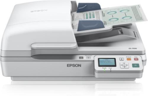 Epson Skaner płaski WorkForce DS-6500N A4/Photo/USB/duplex/LAN/LED