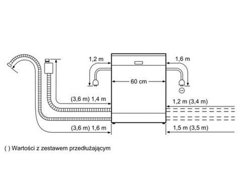 Bosch SMV40D90EU Zmywarka